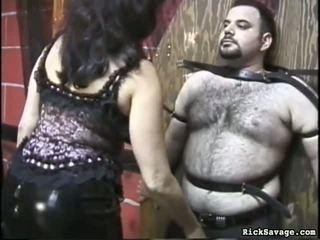 Slow flogging the महिला