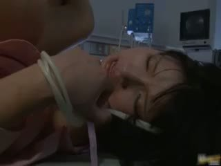 Asian Nurse Has Sex In The Hospital Part2