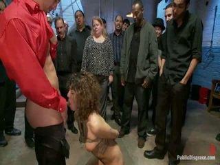 public sex, submission, bondage sex, dominant
