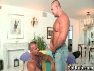 Mooi bro getting aroused homo rubbing