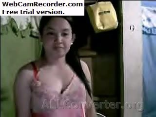 Filipino момиче стегнат космати путка и съвършен бомби