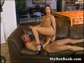 Brandy Lyons is a very sexy dark blonde haired ba