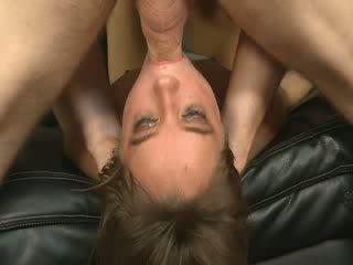 Acrobatic Sucker Sucks Cocks Upside Down
