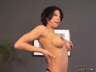 brunette bitch invites you to lick her bush