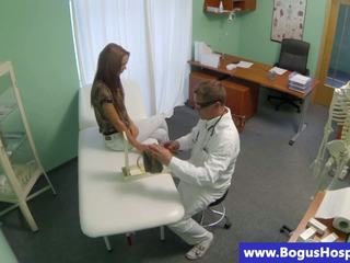 Real patient seduced by a horny doctor
