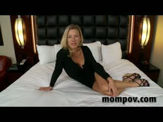 Tight blonde milf gets fucked in hotel