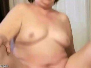 Ugly granny fucking a horny guy