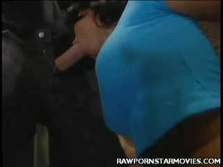 Breasty Porn Star Mouth Fucked