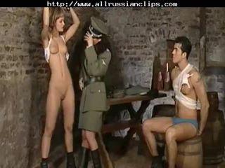 Dominant russians zneužívanie prisoners ruské cumshots prehltnúť