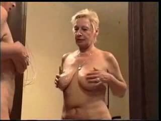 Granny and young man - 18