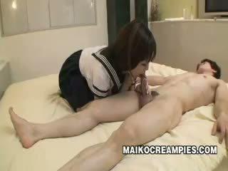 Jepang pelajar putri kacau