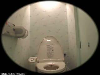 Ragazza dormitorio toilette onanism