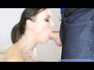 Petite babe Fucks And Eats Jizz