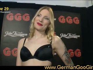 Exclusive live series of hot german babes in cum