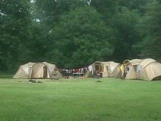 Suzie diamond в а camping