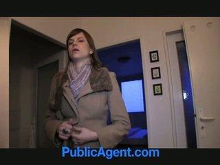 Δημόσιο agent fucks έγκυος marketa