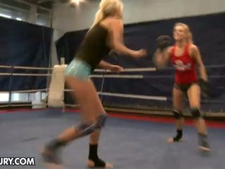Inside Today's Fight Club You Is Able To Witness As Laura Crystal And...