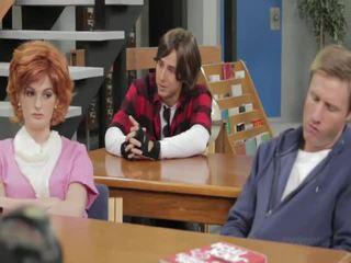Une breakfast club parodie andy san dimas, breanne benson, brooke van buuren, faye reagan, samantha ryan, syren sexton, tessa taylor