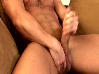 সমকামী muscle hunk বাড়া tugging
