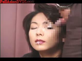 Bukkake For Mature Japanese Slut