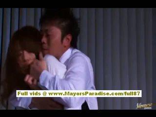 Akiho yoshizawa الصينية فتاة gets أساء في عمل