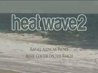 Rafael Alencar Plows Jessie Colter On The Beach