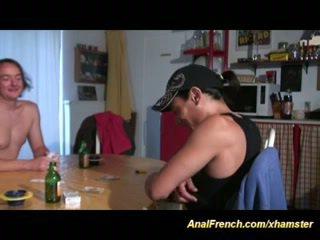 fransız, siyah abanoz, anal