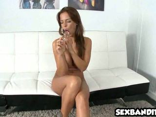 Sexy latina Black Angelika plays with her perfect pussy