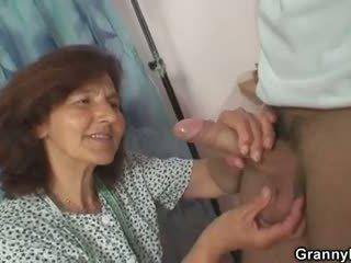 doggystyle, oud, grootmoeder, oma