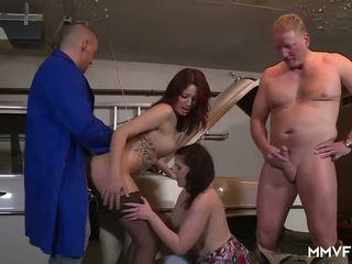 German Redhead Teens Paying the Mechanic, Porn e2