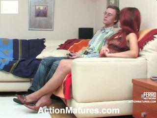 Alana e tobias marvelous mãe onto vídeo ação