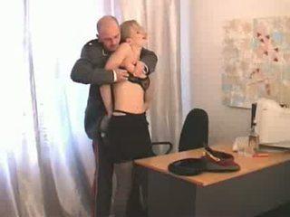 fată, rus, officer