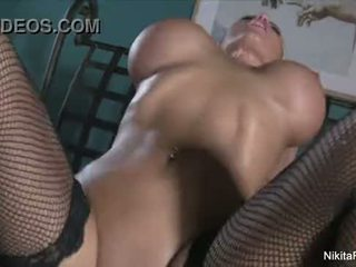 Nikita von james sucks & fucks pov