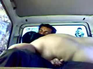 Dogging indiane çift në makinë video