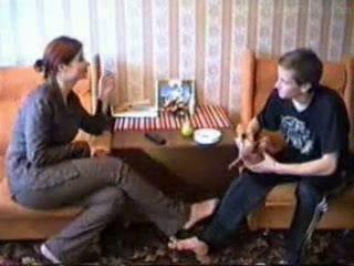 Več sister teaches brat