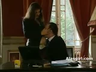 blowjob action nice, you cock sucking, office check