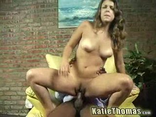 Katie gets slammed nga një e zezë guy