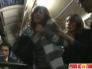 Yuma busty sucks shlongs v autobus
