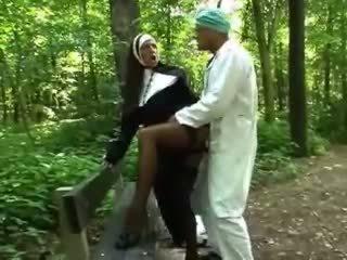 laski, na wolnym powietrzu, nun