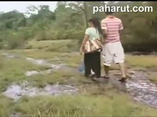 حار التايلاندية جنس في جمهور