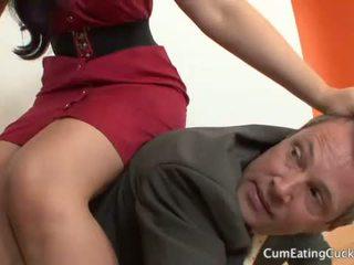 Caroline pierce และ เธอ cuck hubby ส่วนแบ่ง a หน้า