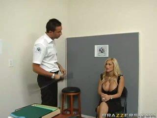 Aubrey angelic blonde babe masturbating and using a banana