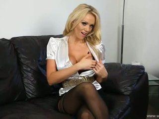 groß, frisch striptease echt, blondine heiß