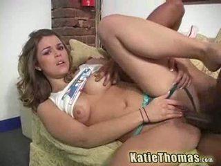 Katie ay hungered para itim shlong