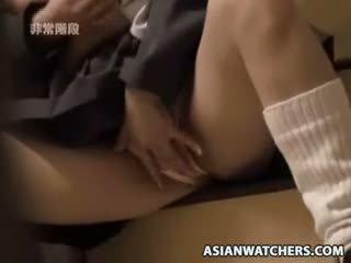 Spycam Masturbating Schoolgirls