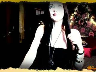 Morgana pendragon priestess של avalon לחיות מצלמת אינטרנט מופע breast מקניט recording