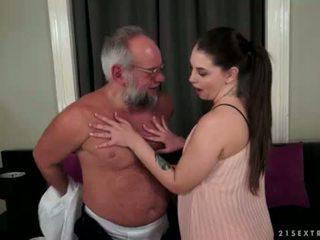 Angelina brill fucks an 이전 gentleman