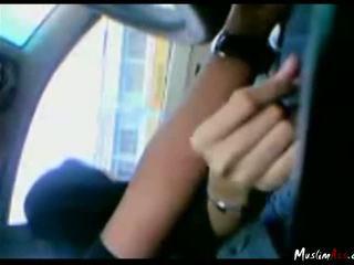 Malay gf giving smaukymas į mašina