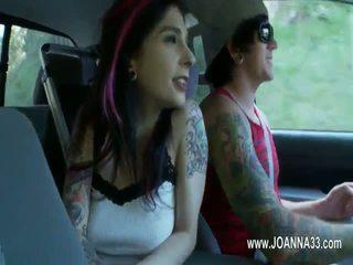 Hardcore sex with nasty punk princess Joanna Angel