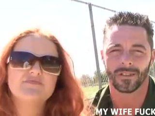 Žiūrėti savo žmona čiulpimas a stranger's didžiulis varpa